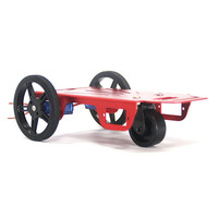 2WD Drive Electronic Smart Rc Car Robot Chassis Kit For Arduino