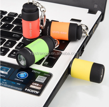 Multi Color LED Mini Flashlight USB Charger Outdoor Portable Powerful Rechargeable Lamp Flashlight Pocket Keychain LED Torch
