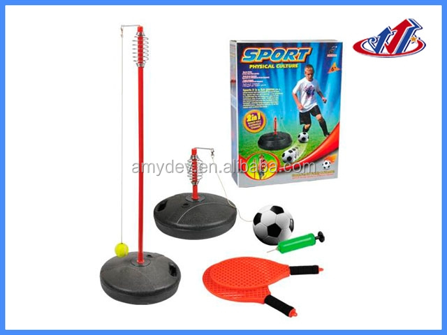 Small 2 in 1 Football and tennies Ball Games for kids practice