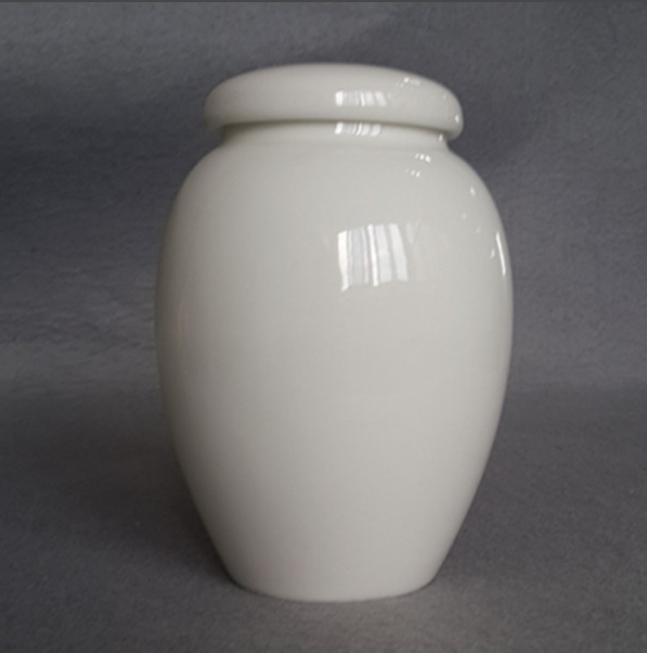 Pet application ceramic cremation urns for ashes china funeral supply