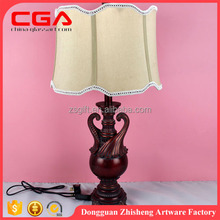 Morden polyresin table lamp crystal table lamp for home decoration