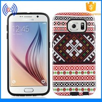Hybrid Phone case for LG Volt LS740 Perfect IMD Pring PU TPU Gummy Combo Case Cover