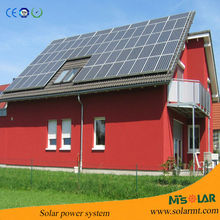 Home application 11v 8W solar panel 5200mAh Lithium led solar energy system for home with 4 x 2W durable solar bulb