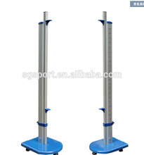 jumping post , high jump rack , high jump stand