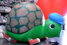 Lovely inflatable cartoon turtle balloon for sale