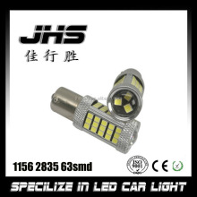 Super Bright white CanBus 2835 63smd LED Car Bulb 1156 BA15s Brake Side Marker Light