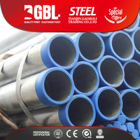 Construction material ERW steel tube pipe