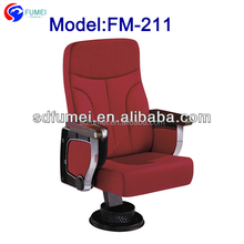 FM-211 Metal leg folding theater auditorium seats best price