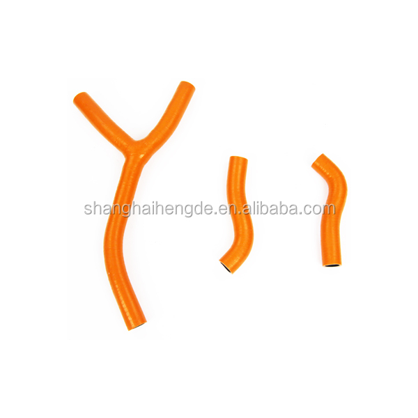 motorcycle parts china cheap price silicone hose pipes for KTM 250SXF 2005-2007