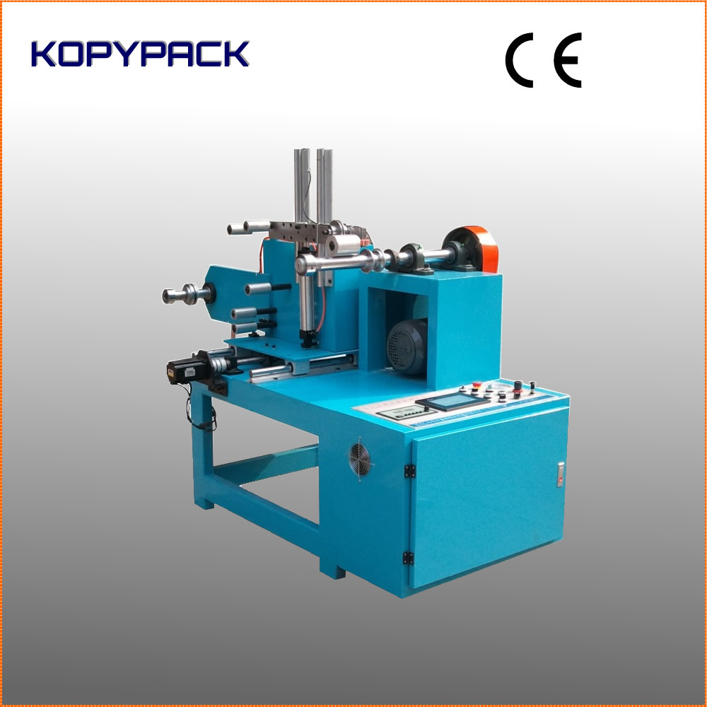 automatic single head bobbin winding machine for tape