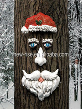 Santa Claus Tree Face -- Make your tree alive in Christmas!