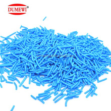 Sweet Bakery Decoration Blue Edible Jimmies Sprinkles for Cake