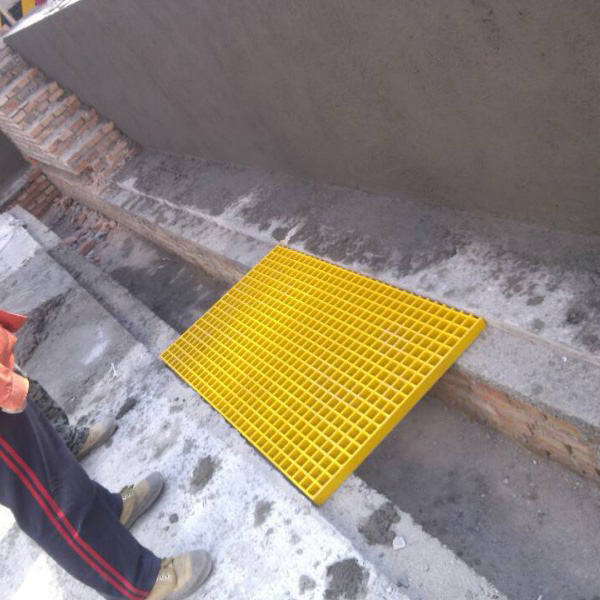 Professional manufacture FRP plastic drain cover grating