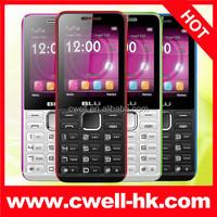 2.4 Inch Screen BLU Tank II T192 Dual SIM Slim Quad Band Low Price GSM Mobilephone 1900mAh Battery big battery