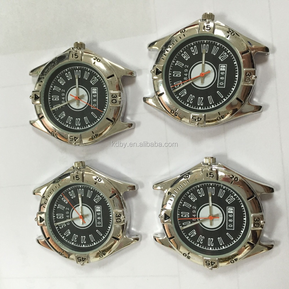 customized car logo wrist watch head alibab.com wholesale zinc alloy metal head watches