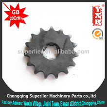 Chinese motorcycle chain and sprocket, Chongqing 428 machinery parts for hot sale