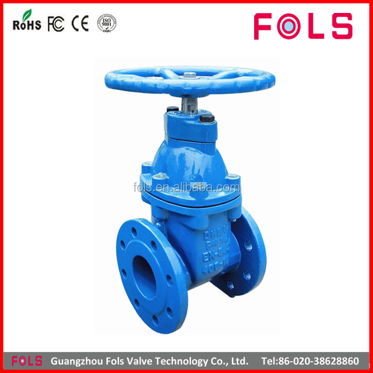 WCB flanged pn16 different type of gate valve drawing