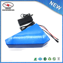 Free Shipping high power Triangle style battery 60V 25Ah for 60v 1800w ebike motor/engine kit with BMS charger For Samsung Cell