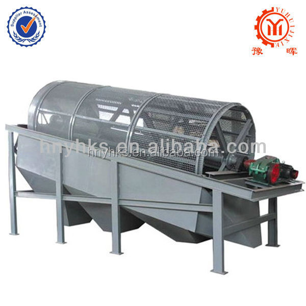 industrial rotating cylinder screen machine for sale from henan Yuhui