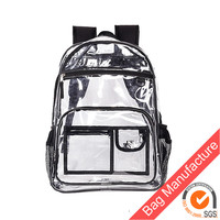 printing on clear pvc school backpack