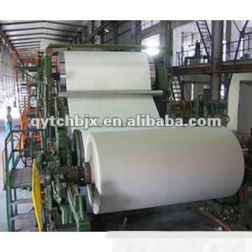1880mm Single- cylinder Single Wire & Single Felt High Speed Tissue Paper Machine
