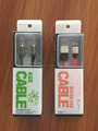 usb cable packaging box/plastic and paper box for cables