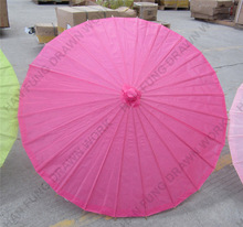 classic designed paper umbrella decoration