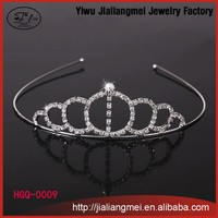2015 Fashion Crown Head Band Round Crowns and Tiaras