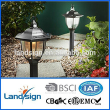 High quality wall mounted solar garden light type plastic outdoor light cover series decorative led solar wall light
