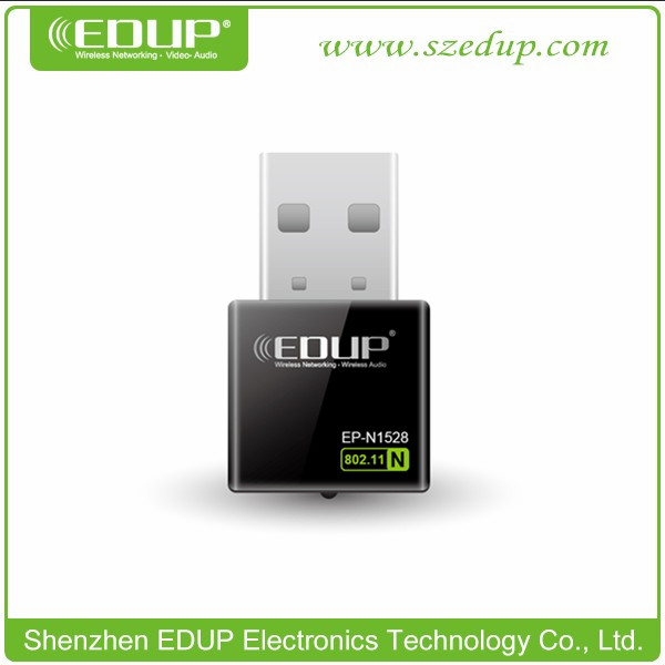 EDUP Newest 2.4GHZ 802. 11n usb 300mbps wireless adapter with Realtek8192CU