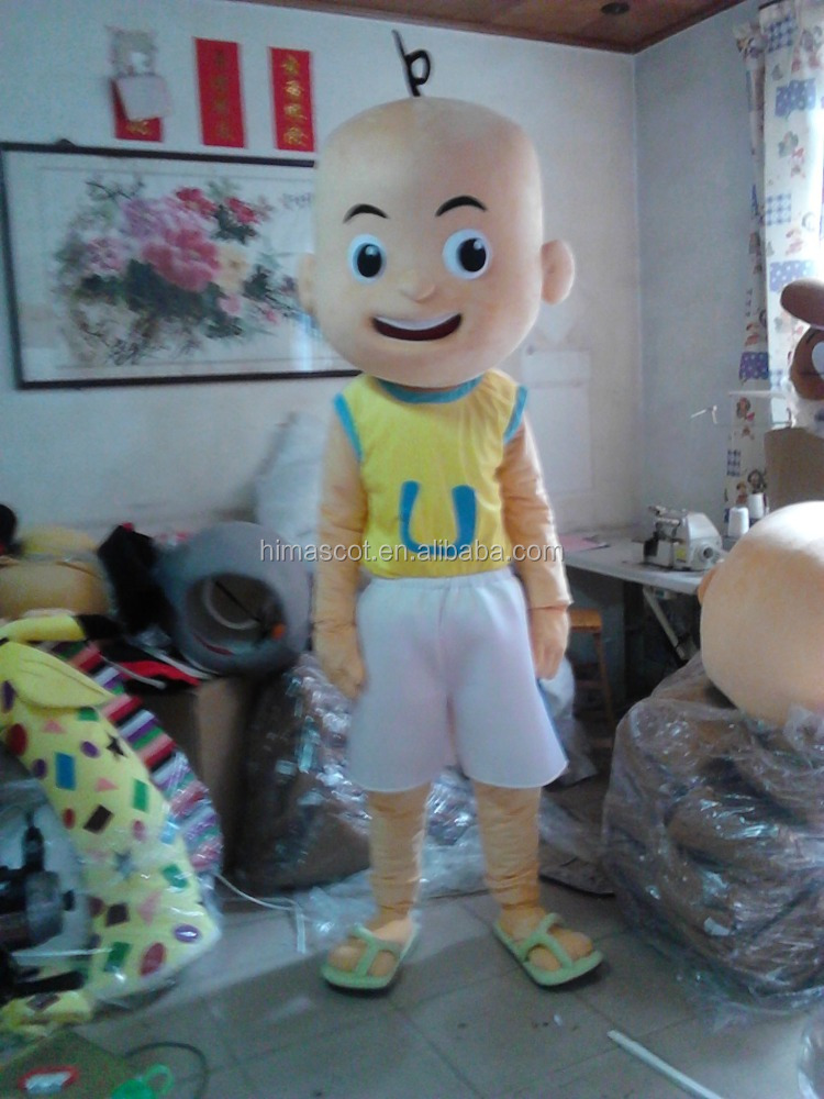 HI CE cartoon character upin&ipin mascot costume for sale
