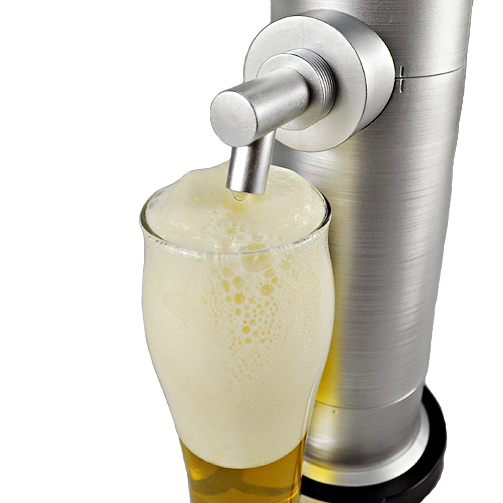 Battery Powered Food Safety Plastic Draft Beer Dispensing Machine for Home & Restaurant