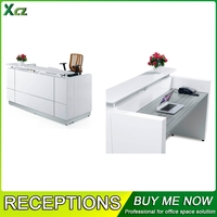 2015 China Customized Cheap Office Furniture Front Desk Counter