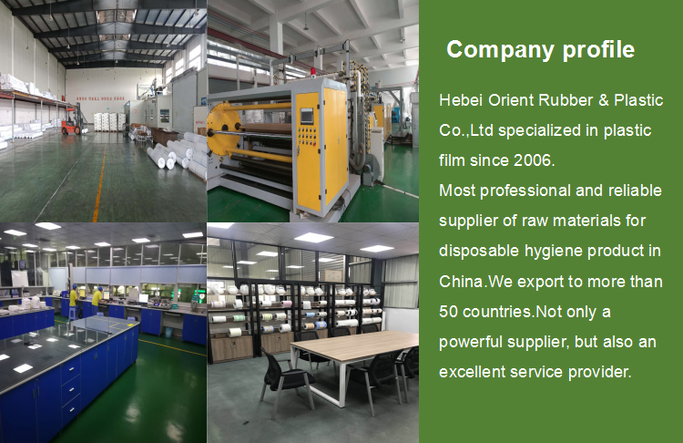 Hot sale harmless to human back sheet material with indicator ink producers