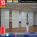 Guangzhou Alufront Office Partitioning System Glazed Folding Walls Folding Partitions Acoustic
