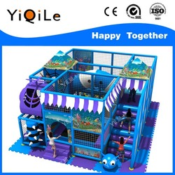 New products Amusement park kid's zone indoor soft playground equipment