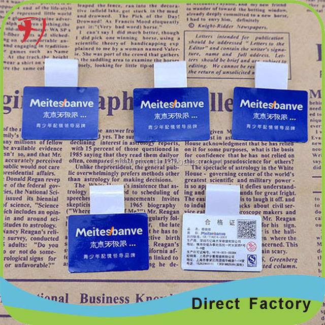 Adhesive fragile paper easy broken warranty sticker void if tampered