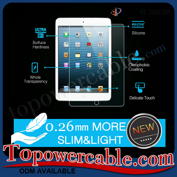 Best 9H Explosion-proof Tempered Glass Phone Screen Protection Film For iPad Mini