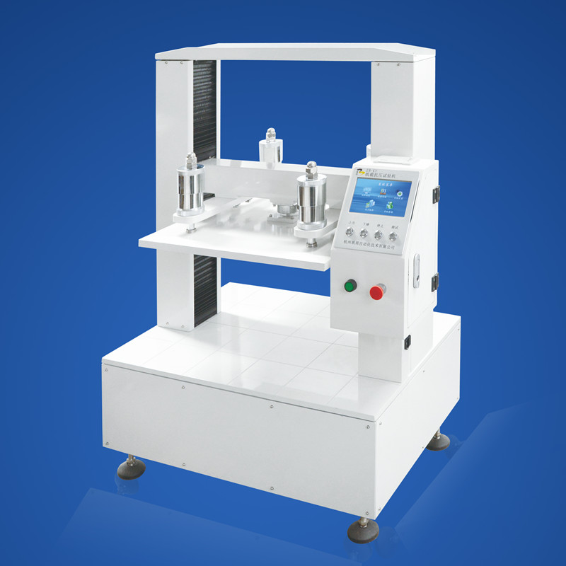 Lab carton compression testing machine/Packages compression strength testing instrument/Box testing equipment