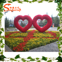 2016 new design garden decoration romantic stylize artificial garden decoration
