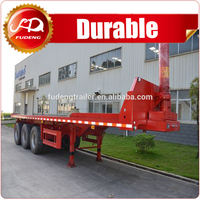 Heavy duty container tilter chasis with hydraulic cylinder