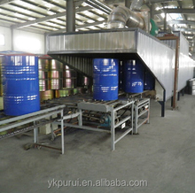 200 L Used Steel Drum and Barrel Painting Machine Room Gun Used Oil Drums for Sale
