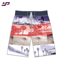 Marke Qualität Sublimation quick dry badehose 4 4-wege-stretch board shorts