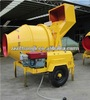 Exported to Philippines!!! JZC500(500L) diesel engine concrete mixer