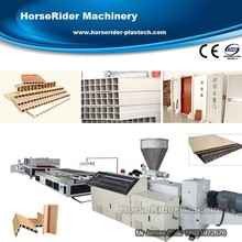 Hot sale WPC construction template extrusion line