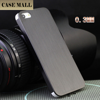 Luxury brushed aluminum back cover for iphone 5s for iphone 5s back cover luxury case