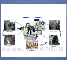 Toffee candy double twist wrapping machine/automatic chocolate twist packing machine