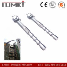 NJMKT Manufacturing factory wedge anchor bolt with nut and washerwith metro