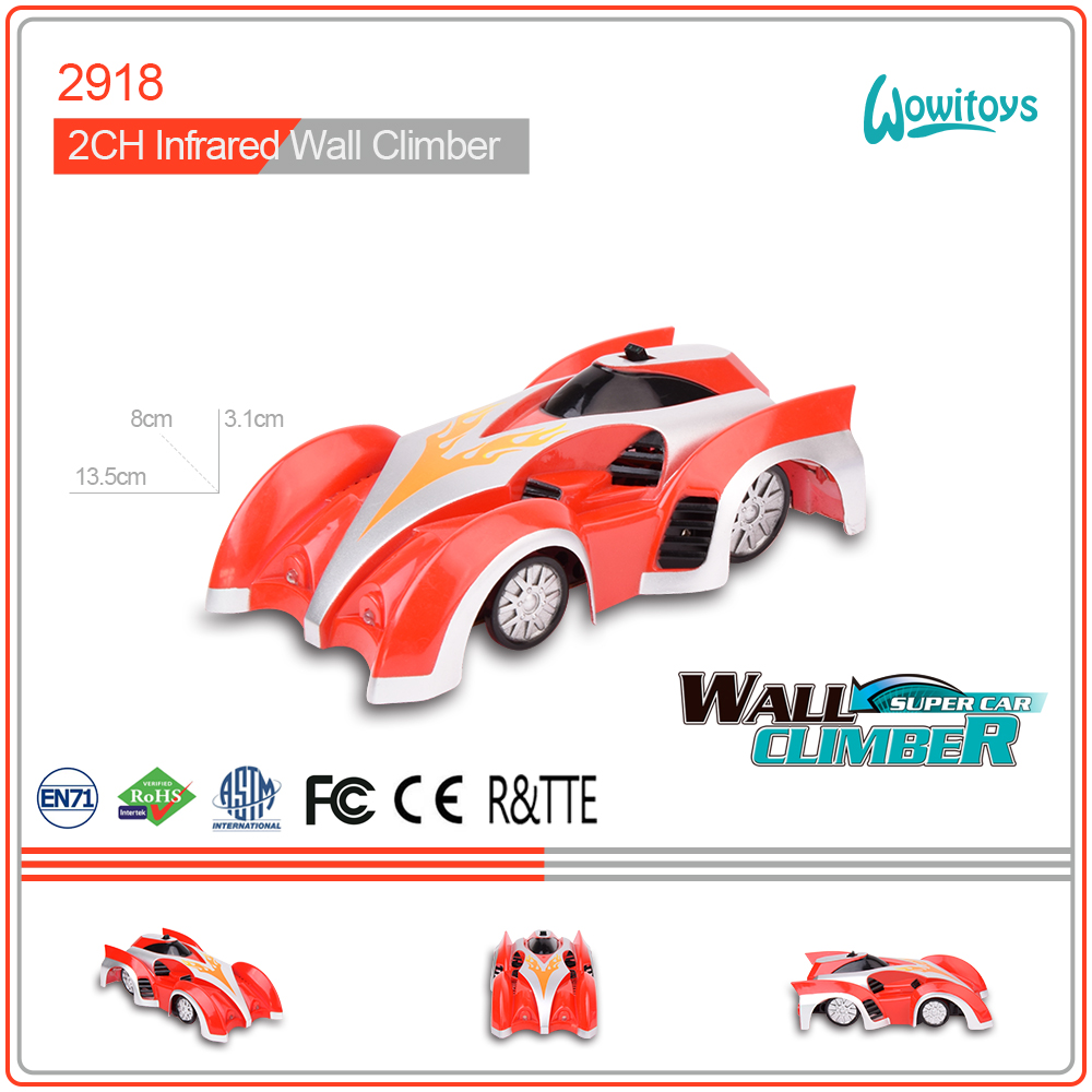 Cheap and good quality rc mini wall climbing cars with different colors