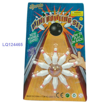 mini inteligent bowling game toy for pre-school kid